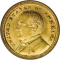Commemorative Gold: , 1903 G$1 Louisiana Purchase/McKinley MS65 PCGS. Though the McKinleydesign, per official explanations, was to celebrate the...