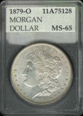 Additional Coins: , 1879-O Dollar MS 65 (MS 64) Accugrade. Light, even toning. ...