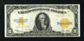Large Size:Gold Certificates, Fr. 1173 $10 1922 Gold Certificate Very Fine-Extremely Fine....