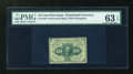 Fractional Currency:First Issue, Fr. 1240 10c First Issue PMG Choice Uncirculated 63 EPQ....