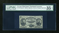 Fractional Currency:Third Issue, Fr. 1274SP 15c Third Issue Narrow Margin Face PMG Choice Very Fine 35 EPQ....