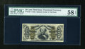 Fractional Currency:Third Issue, Fr. 1327 50c Third Issue Spinner PMG Choice About Unc 58 EPQ....