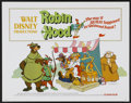 "Movie Posters:Animated, Robin Hood (Buena Vista, 1973). Half Sheet (22"" X 28"").Animated...."