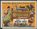 "Movie Posters:Adventure, Mark of the Renegade (Universal International, 1951). Half Sheets(2) (22"" X 28"") Styles A & B. Adventure.... (Total: 2 Items)"