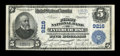 National Bank Notes:Pennsylvania, Intercourse, PA - $5 1902 Plain Back Fr. 600 The First NB Ch. #9216. ...