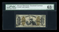 Fractional Currency:Third Issue, Fr. 1356 50c Third Issue Justice PMG Choice Uncirculated 63 Net....