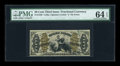 Fractional Currency:Third Issue, Fr. 1350 50c Third Issue Justice PMG Choice Uncirculated 64 EPQ....