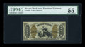 Fractional Currency:Third Issue, Fr. 1370 50c Third Issue Justice PMG About Uncirculated 55....