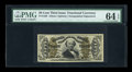 Fractional Currency:Third Issue, Fr. 1329 50c Third Issue Spinner PMG Choice Uncirculated 64 EPQ....