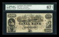 Obsoletes By State:Louisiana, New Orleans, LA- Canal Bank $500 18__ G70a. ...
