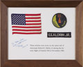 Explorers:Space Exploration, Buzz Aldrin's Original Gemini 12 Space Suit Patches...