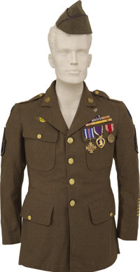 Doolittle Tokyo Raider Jacob DeShazer Uniform, Medals and Archive
