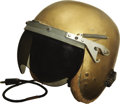 Transportation:Aviation, Brigadier General Robert L. Cardenas' Helmet Flown on ChuckYeager's First Supersonic Flight.... (Total: 3 Items)