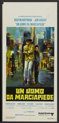 "Movie Posters:Academy Award Winner, Midnight Cowboy (United Artists, 1969). Italian Locandina (12.5"" X27.5""). Academy Award Winner...."