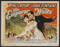 "Movie Posters:Musical, The Emperor Waltz (Paramount, 1948). Half Sheets (2) (22"" X 28"") Styles A & B. Musical.... (Total: 2 Items)"