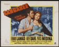 "Movie Posters:Adventure, Sangaree (Paramount, 1953). Half Sheets (2) (22"" X 28"") Styles A& B. Adventure.... (Total: 2 Items)"
