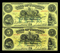 Canadian Currency: , Toronto, ON- The Bank of Toronto $5 (2) Feb. 1, 1917, Feb. 1, 1923Ch. # 715-22-14, 715-22-18. ... (Total: 2 notes)