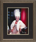 "Movie/TV Memorabilia:Photos, Sophie Tucker Framed Photo Portrait from Beverly Hills CENSOREDClub. A color 11"" x 14"" photo portrait of the vaudeville and...(Total: 1 Item)"