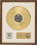 Music Memorabilia:Awards, James Gang Thirds RIAA Gold Album Award (1971). Presented toJoe Walsh to commemorate the sale of more than $1 m... (Total: 1Item)