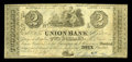 Canadian Currency: , Montreal, LC- The Union Bank $2 Aug. 1, 1838 Ch. # 725-14-04. ...