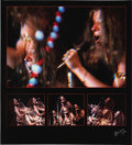 """Music Memorabilia:Photos, Janis Joplin Limited Edition Photo. This beautiful 20"""" x 22"""" photo collage of singer Janis Joplin is yet another captured by... (Total: 1 Item)"""