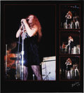 """Music Memorabilia:Photos, Janis Joplin Limited Edition Photo. Our 4th offering of photography by Bill Levy is a great 20"""" x 22"""" photo print of singer ... (Total: 1 Item)"""