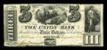 Canadian Currency: , Montreal, LC- The Union Bank $3 Aug. 1, 1838 Ch. # 725-16-06R. ...