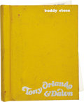 Movie/TV Memorabilia:Autographs and Signed Items, Buddy Ebsen's Bound and Signed Script for the Tony Orlando andDawn TV Show. The script from the March 19, 1975 ... (Total: 1Item)