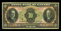Canadian Currency: , Winnipeg, MB- The Union Bank of Canada $10 July 1, 1921 Ch. # 730-20-05. ...