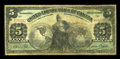 Canadian Currency: , Toronto, ON- United Empire Bank of Canada $5 Aug. 1, 1906 Ch. #760-10-02. ...