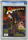"Magazines:Miscellaneous, Marvel Comics Super Special #18 ""Raiders of the Lost Ark"" (Marvel,1981) CGC NM 9.4 White pages...."
