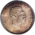Coins of Hawaii: , 1883 25C Hawaii Quarter MS66 PCGS. Breen-8032. Normal Date. Thereis no evidence of any repunching in the date on this exam...