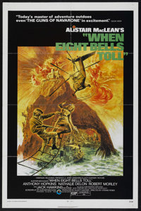 "When Eight Bells Toll (Cinerama Releasing, 1971). One Sheet (27"" X 41""). Mystery. Starring Anthony Hopkins, Na..."
