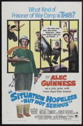 "Movie Posters:Comedy, Situation Hopeless...But Not Serious (Paramount, 1965). One Sheet (27"" X 41""). Comedy. Starring Alec Guinness, Michael Conno..."