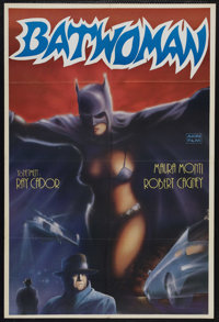 "Batwoman (Cinematográfica Calderón S.A., 1968). Mexican One Sheet (27"" X 39""). Action. Starring..."