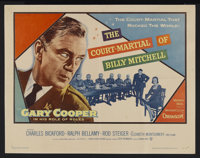 """The Court-Martial of Billy Mitchell (Warner Brothers, 1956). Insert (14"""" X 36""""). Biographical Drama. Starring..."""