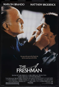 """Comedy Lot (Various, 1980-2000). One Sheets (3) (27"""" X 41""""). """"The Freshman"""" (1990), """"First Fami..."""