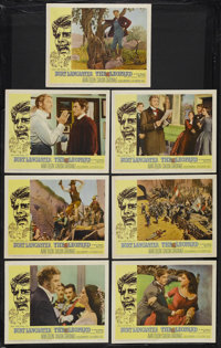 "The Leopard (20th Century Fox, 1963). Lobby Cards (7) (11"" X 14""). Historical Drama. Starring Burt Lancaster..."