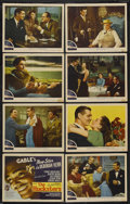 "Movie Posters:Drama, The Hucksters (MGM, 1947). Lobby Card Set of 8 (11"" X 14""). Drama. Starring Clark Gable, Deborah Kerr, Ava Gardner, Sydney G... (Total: 8 Items)"
