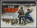 "Movie Posters:Adventure, The Trap (Rank, 1966). British Quad (30"" X 40""). Adventure.Starring Rita Tushingham and Oliver Reed. Directed by Sidney Hay..."