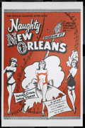 "Movie Posters:Bad Girl, Naughty New Orleans (Rebel Pictures, 1954). One Sheet (25"" X 38""). Bad Girl. Starring Julianne, Bob Carney, Harry Rose, Jean..."
