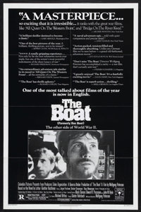 "Das Boot (Columbia, 1981). One Sheet (27"" X 41"") Style B. War. Starring Jurgen Prochnow, Herbert Gronemeyer an..."