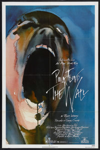 "Pink Floyd: The Wall (MGM, 1982). One Sheet (27"" X 41""). Rock and Roll Drama. Starring Pink Floyd, with Bob Ge..."