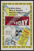 """Movie Posters:Documentary, Yesterday and Today (United Artists, 1953). One Sheet (27"""" X 41""""). Documentary. Narrated by George Jessel and starring Charl..."""