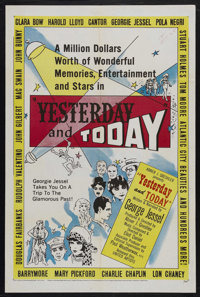 """Yesterday and Today (United Artists, 1953). One Sheet (27"""" X 41""""). Documentary. Narrated by George Jessel and..."""