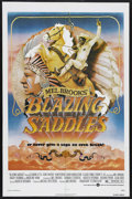 "Movie Posters:Comedy, Blazing Saddles (Warner Brothers, 1974). One Sheet (27"" X 41"").Comedy. Starring Cleavon Little, Gene Wilder, Harvey Korman,..."