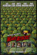 "Movie Posters:Science Fiction, Mars Attacks! (Warner Brothers, 1996). One Sheet (27"" X 41""). Science Fiction Comedy. Starring Jack Nicholson, Annette Benin..."