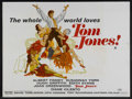 "Movie Posters:Academy Award Winner, Tom Jones (United Artists, 1963). British Quad (30"" X 40""). AcademyAwards. Comedy Adventure. Starring: Albert Finney, Susan..."