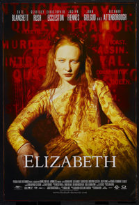 "Drama Lot (Various, 1990s). One Sheets (2) (27"" X 41""). ""Elizabeth"" (Gramercy, 1998). Starring Cate..."