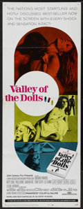 "Movie Posters:Cult Classic, Valley of the Dolls (20th Century Fox, 1967). Insert (14"" X 36"").Drama. Starring Barbara Parkins, Patty Duke, Paul Burke an..."